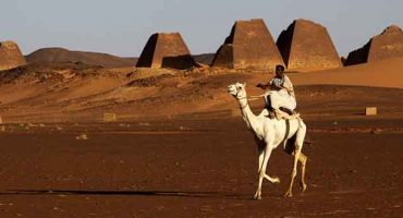Move over Egypt, Sudan's pyramids are coming through