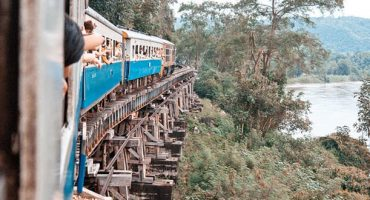 Riding Thailand's Death Railway with The Railway Man