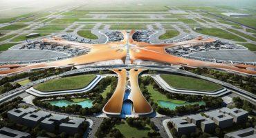 Beijing's new futuristic airport