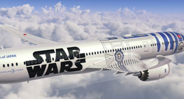 ANA introduces new Star Wars-themed plane