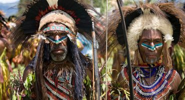 PHOTOS: Papua New Guinea's tribal meeting