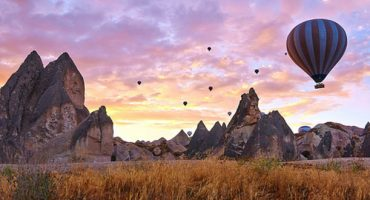 PHOTOS: hot air ballooning in Cappadocia