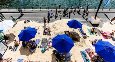 Paris' city beaches are now open!