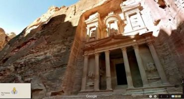Google Street view tour of Petra