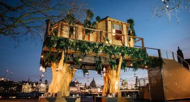 Stay in a luxury treehouse on London's Southbank