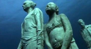 Visit Spain's ghostly underwater museum