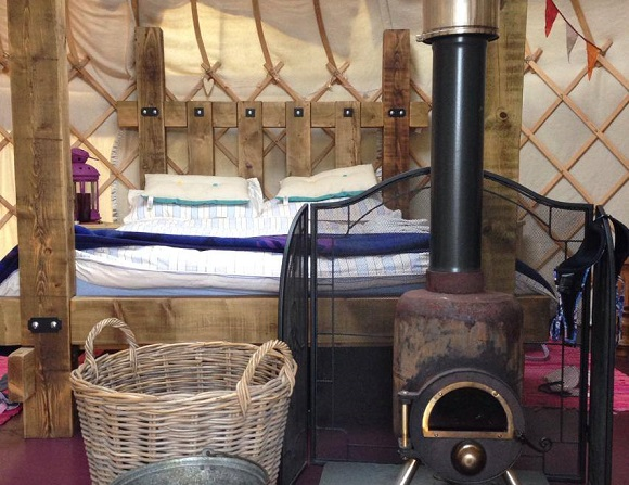 Inside a Secret Yurt in Wales