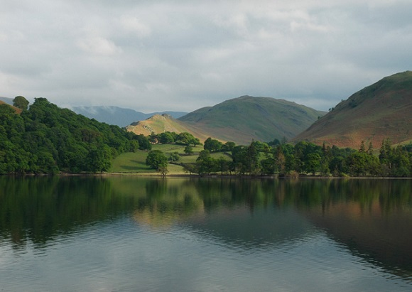 Ullswater in the English Lake District