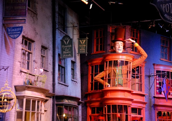 Diagon Alley at Harry Potter Studios Warner Bros London