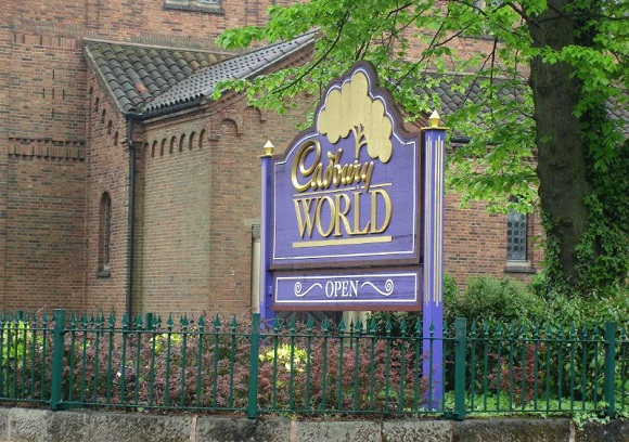 Entrance to Cadbury World Birmingham