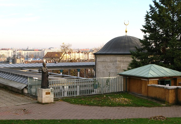 The Tomb of Gül Baba in Budapest