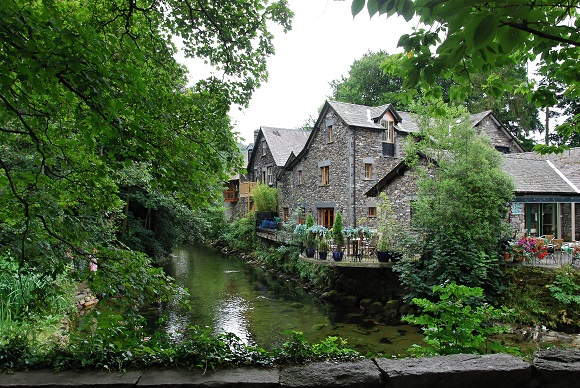 Grasmere village in the Lake District