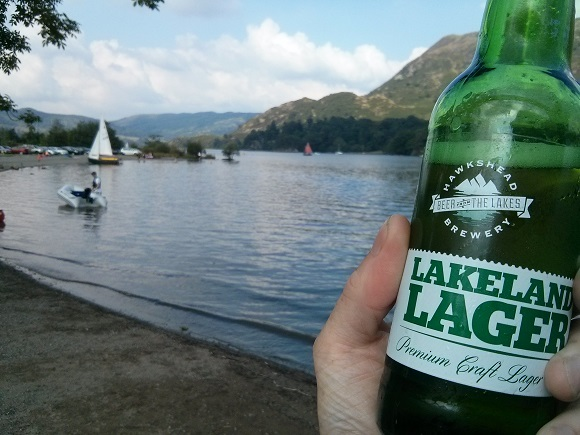 Lakeland Lager by the lake