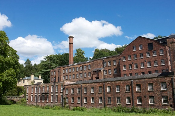 Quarry Bank Mill in Manchester
