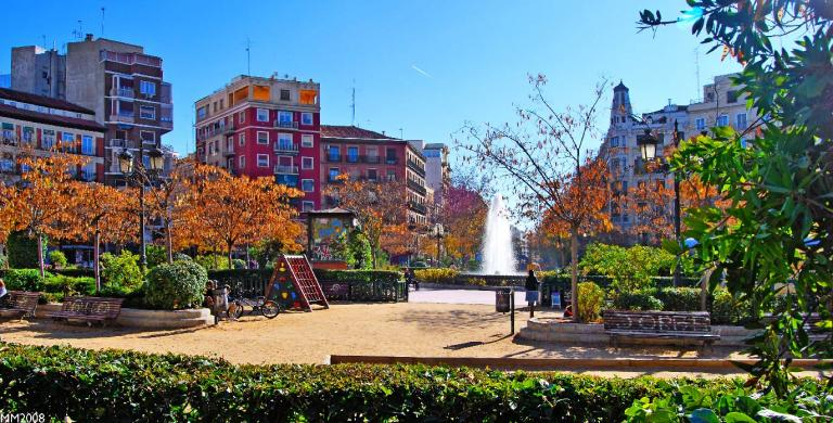 Plaza de Olavide in Madrid