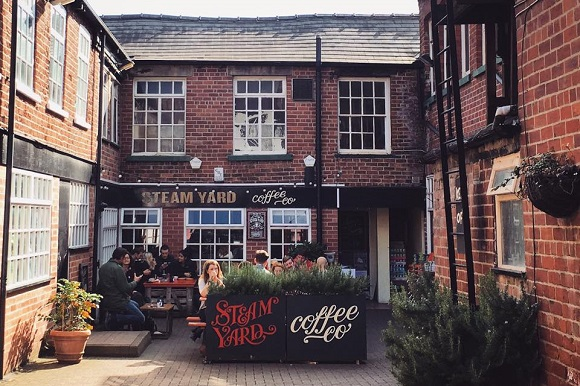 Steam Yard Coffee company in Sheffield