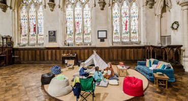 The New Glamping? 'Champing' Lets You Camp In A Church