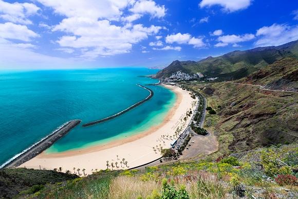 Las Teresitas beach Tenerife