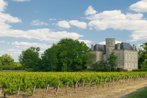 Château Margaux in France