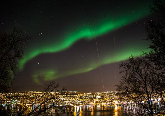 Aurore-boreale-Tromso
